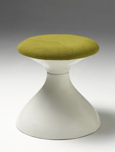 Jean-Pierre Laporte; Gel Coated Fiberglass 'Diabolo' Stool for Placide Joliet, c1970.