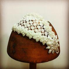 Cherubina bridal headpiece wedding tocado novia boda