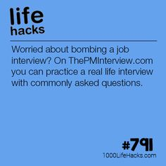 How To Practice For An Interview - 1000 Life Hacks - How To . - How to Practice for an Interview – 1000 Life Hacks – How to Practice for an Interview, Post Fro - Life Hacks Español, College Life Hacks, Life Hacks For School, Simple Life Hacks, Useful Life Hacks, Life Hacks Websites, Job Interview Answers, Job Interview Preparation, Job Interview Tips