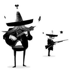 character illustration.