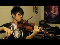 Jason Mraz - I Won't Give Up - Jun Sung Ahn Violin Cover - walk down the aisle