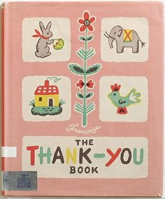 The Thank You book - Francoise Seignobosc