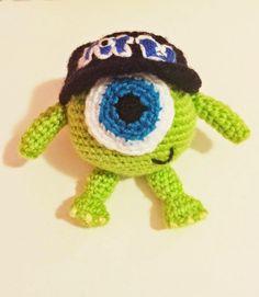 Crochet y Amigurumis : Patrón Mike Wazowski bebe!