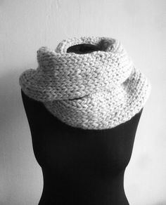 #big #wool #knitted #scarf #winter ♥ ♥ ♥