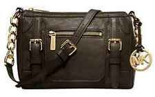 New Michael Kors McGraw Loden Leather Crossbody Shoulder Bag