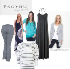 So. CUTE. And fleece-lined yoga pants? Hello, lovah.  4 Reasons Yoga Pants Rule the World #FashionFriday #LoveYourBody | ColoradoMoms.com