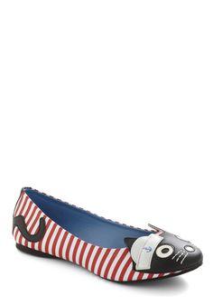 Sailor cat shoes :)