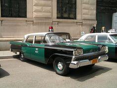 1959 Ford police car by theos8710, via Flickr