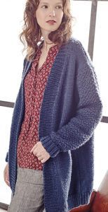 Free Knitting Pattern for Tyburn Cardigan