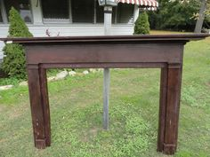Vintage Fireplace Mantle by SanfordGeneralStore on Etsy, $100.00