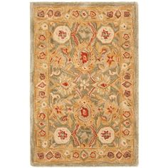 Safavieh Anatolia Sage/Ivory 2 ft. x 3 ft. Area Rug-AN516A-2 - The Home Depot