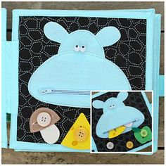 Personalized-4-page-Quiet-book-Busy-book-Interactive-Children-039-s-toy