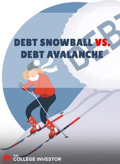 If you're looking to get out of debt, the debt snowball and debt avalanche are great approaches. Student Loan Forgiveness, Debt Snowball, Managing Money, Student Loan Debt, Get Out Of Debt, Financial Literacy, Debt Payoff, Budgeting Tips, Debt Free