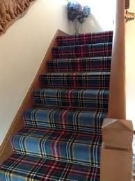 Image result for tartan stair carpet