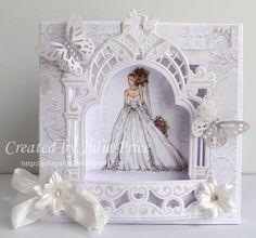 copic wedding card
