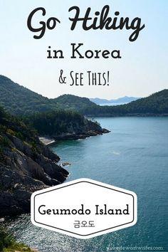 Hiking on Geumodo Island in South Korea