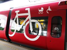 Bring your bike on the train.