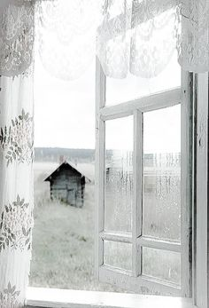 listen to the soft breeze. Country Charm, Country Life, Country Living, Very Lovely, Beautiful, Fade Color, Le Jolie, Through The Window, Window View