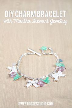 DIY Charm Bracelet with Martha Stewart