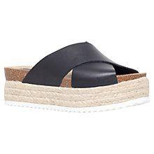 Buy Carvela Kool Flatform Sandals Online at johnlewis.com