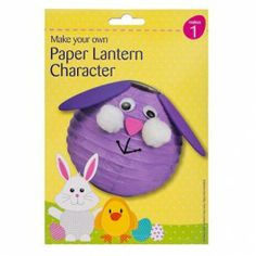 Make Your Own Easter Paper Lantern - Easter Crafts - Easter Easter Half Term, Make Your Own, Make It Yourself, How To Make, Cancer Research Uk, Easter Party, Party Tableware, 70th Birthday, Bake Sale