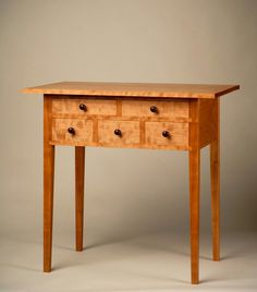 Shaker Cherry And Butternut Drop-leaf Table, Sister\u0027s Shop, Canaan, New York, Early 19th Century...~♥~   #2 Primitive Country Antiques Pinterest Drop Hall Table