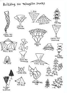 Life Imitates Doodles: Basic Shapes Fantasy Landscape Step-wisely #FantasyLandscape #DrawingTutorial #Step-wisely