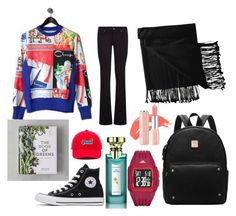 """hijab daily #sportyhijab"" by ismirahmadiani on Polyvore featuring Champion, Paige Denim, New Directions, Converse, Vans and Bulgari"