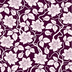 Free floral vector pattern from www.shutterstock.com