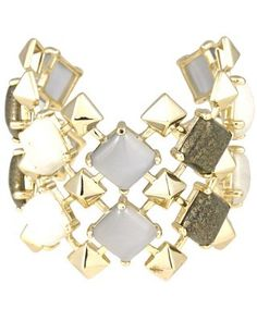 Azura Boutique - Kendra Scott Corbett Cuff in Lotus, $200.00 (http://www.shopazura.com/corbett-cuff-in-lotus/)