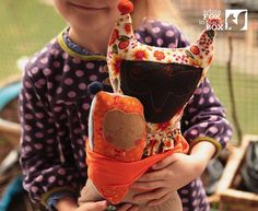 Handmade Babywearing Dolls are a Perfect Gift for Big Brothers and Big Sisters To-Be | Inhabitots