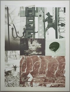 American Pewter with Burroughs II | Robert Rauschenberg Foundation