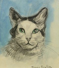 Francis Picabia (1879-1953) - Tête de Chat, Vers 1923-1928