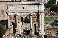 Triumphal Arches-Roman Forum http://www.aviewoncities.com/rome/forumromanum.htm