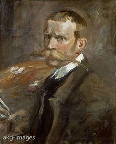 'Self-portrait' Uhde, Fritz von Painter Wolkenburg 22.5.1848 - Munich 25.2. 1911. 'Self-portrait', 1898. Oil on canvas, 60.5 x 49cm. Gal. 2420 Dresden, Gemäldegalerie, Neue Meister.