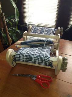 New Ashford Sample It Rigid Heddle Loom by workingyarn, via Flickr