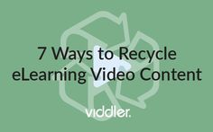 7 Ways To Recycle #video #content and increase your #engagement