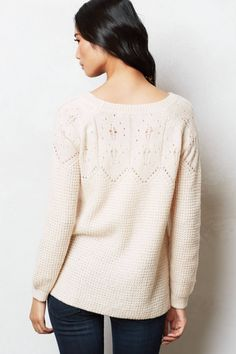 Crocheted Aspen Pullover - anthropologie.com