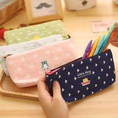 Vintage animal printing pen & pencil case Fresh design school pencil bag Zakka Cute stationery estuches school supplies -in Pencil Cases from Office & School Supplies on Aliexpress.com | Alibaba Group