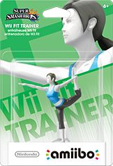 Wii Fit Trainer amiibo Box Art