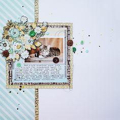 Jesse-cat scrapbooking layout by Anski
