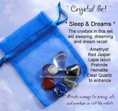 Crystals for Sleep   Dreams