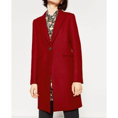 Coralia coat - Women's masculine-inspired coat in soft twill