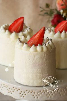 Recipe Japanese Strawberry Shortcake: Soft, light, easy and very delicious! by dailydelicious