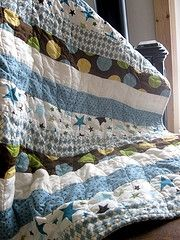 Baby Boy Quilts...just need to learn how to thread my machine