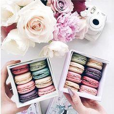 Afternoon sweets... @lichipan @ladureeau