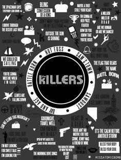 The Killers. fangirlfangirlfangirlfangirl ah can't breathe so good <3 <3…