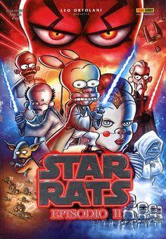"""Trovato in edicola questo Special Events 87 della Panini Comics che presenta """"Star Rats - Episodio II"""" firmato dal geniale Leo Ortolani. #PaniniComics #RatMan #StarRats"""