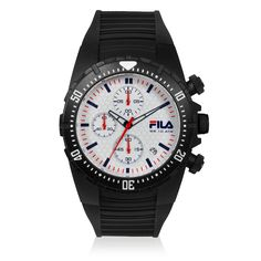 Fila Watches - Filacasual Chronograph - Fila Watches are a statement of sporty Italian lifestyle and sense of ...