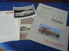 Aston Martin Tickford Capri 2.8i Rare Brochure Collection inc 82 Press Release